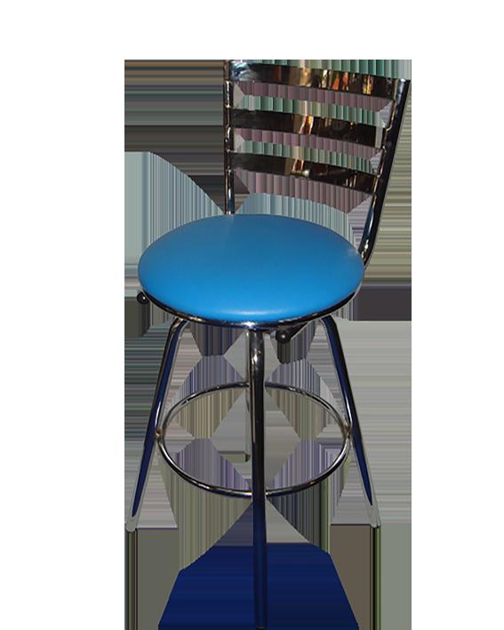 Banco abanico giratorio muebles para negocios alfa for Sillas para negocio